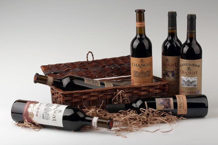 张裕橡木桶解百纳干红葡萄酒750ml